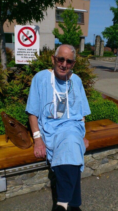 Alan in hospital