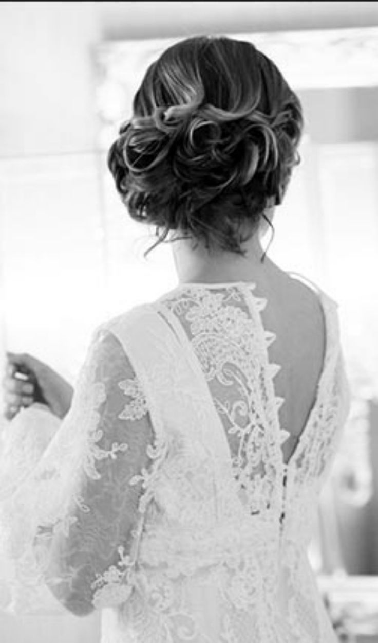 21 best Wedding Hairstyles images on Pinterest | Bridal hairstyles ...