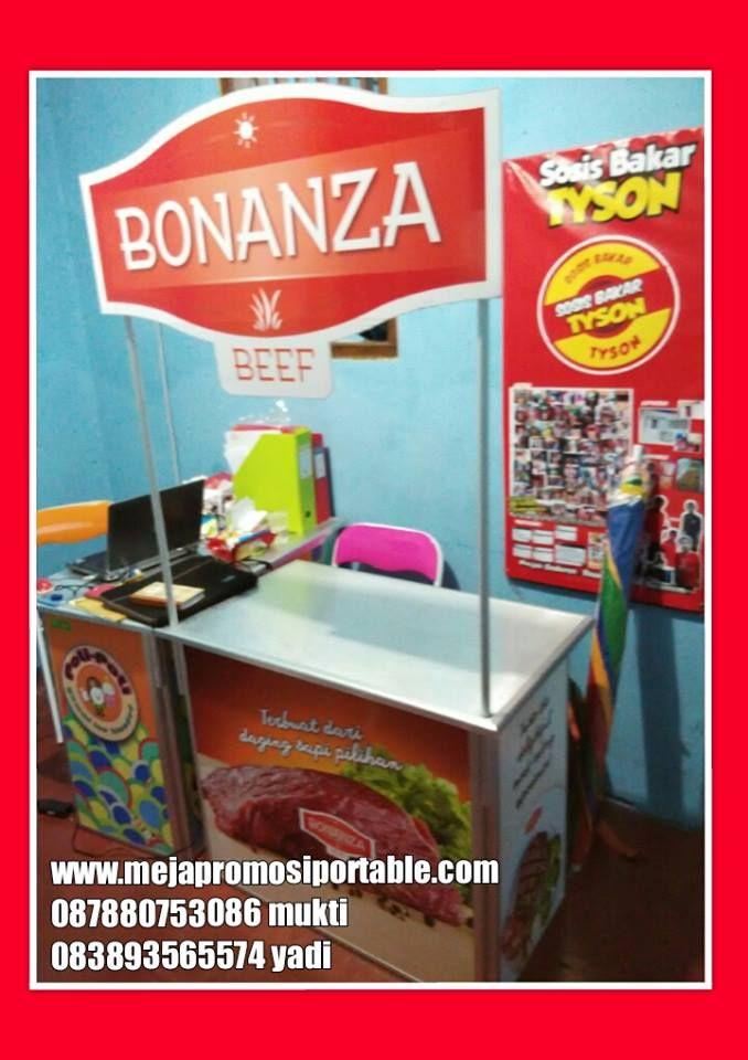 booth portable bisa costum header .cocok untuk jualan dan promosi www.rajaboothportable.com