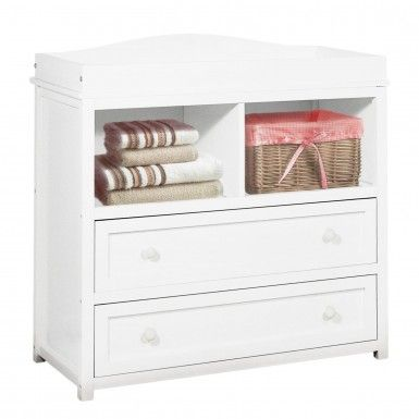 AFG Athena Leila Changing Table in White - Changing Tables - Baby Furniture