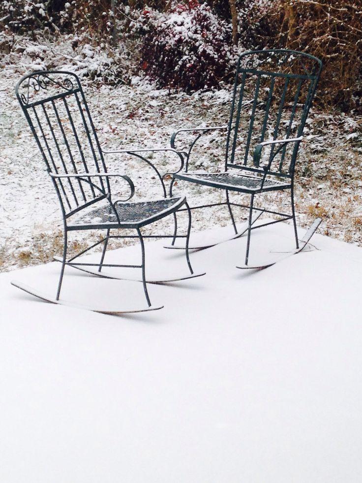 Mom's rocking chairs
