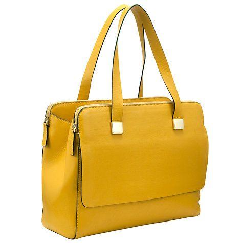 Collection by John Lewis Triple Montrose Leather Shoulder Handbag at johnlewis.com £119