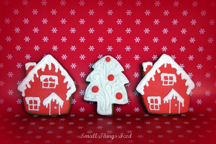 Small Things Iced: Christmas Cookies