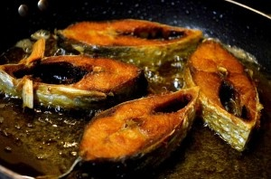 """Panta Ilish"" is very popular in Bangladeshi tradition specially in Pohela Boishakh. This is a traditional local food of Bangladesh. In Bangladesh, it is a part of the Pohela Boishakh (Bengali new year festival) festivities.."