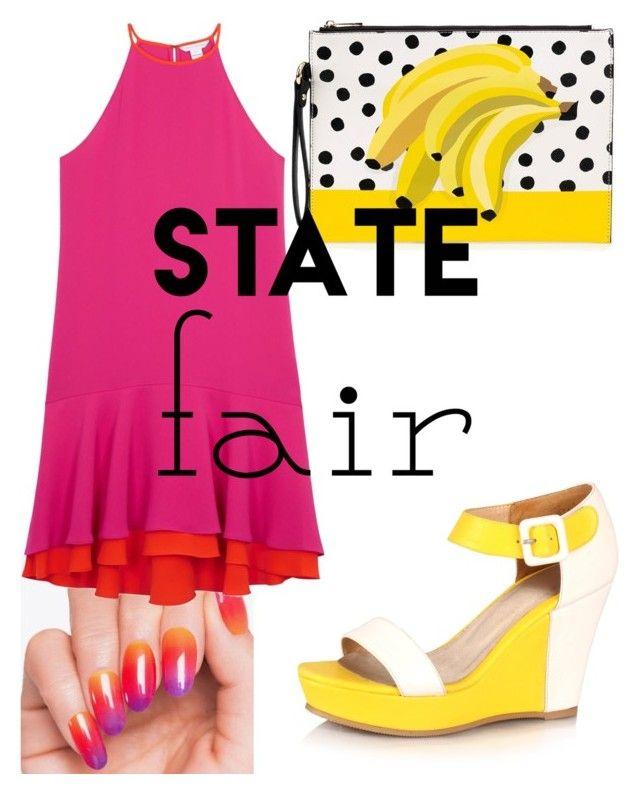 """""""Senza titolo #428"""" by kirsten-weigh on Polyvore featuring moda, Diane Von Furstenberg, statefair e summerdate"""