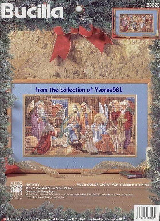 The Nativity - 1/5 Solo Patrones Punto Cruz   Aprender manualidades es facilisimo.com