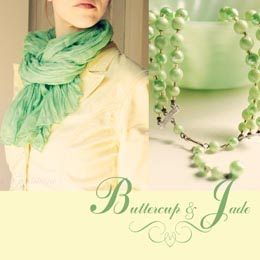 Buttecup & Jade ~ turquoise objects: Spring Buttercup, Spring Green, Colors Combos, Green Scarves, Jade Colors, Pretty Colors, Green Scarfs, Colors Combinations, Green Pearls