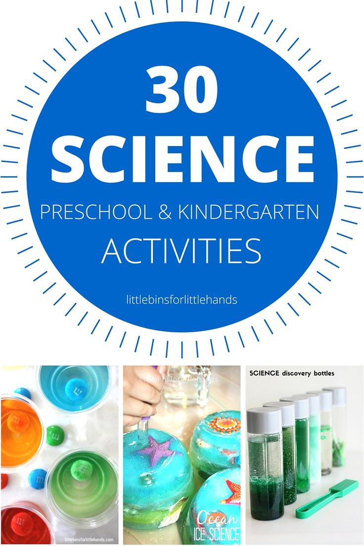 Kindergarten science and preschool science experiments and activities perfect for young kids. Explore simple science ideas through hands-on play activities that are quick, fun, and easy to do for science at home or in the classroom.