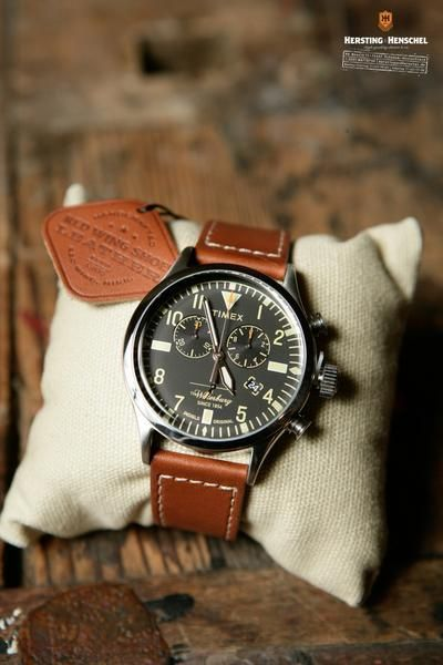 Timex Red Wing Special Edition Waterbury Chronograph - Kersting & Henschel