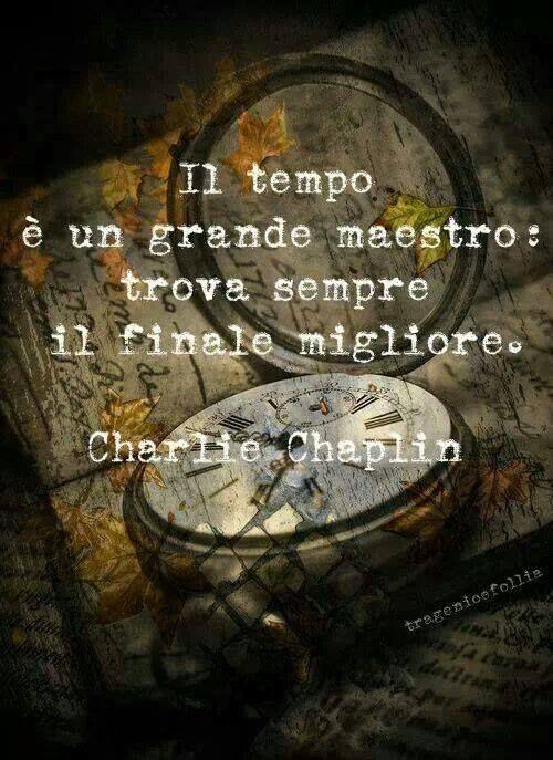 Chaplin Il tempo è un grande maestro