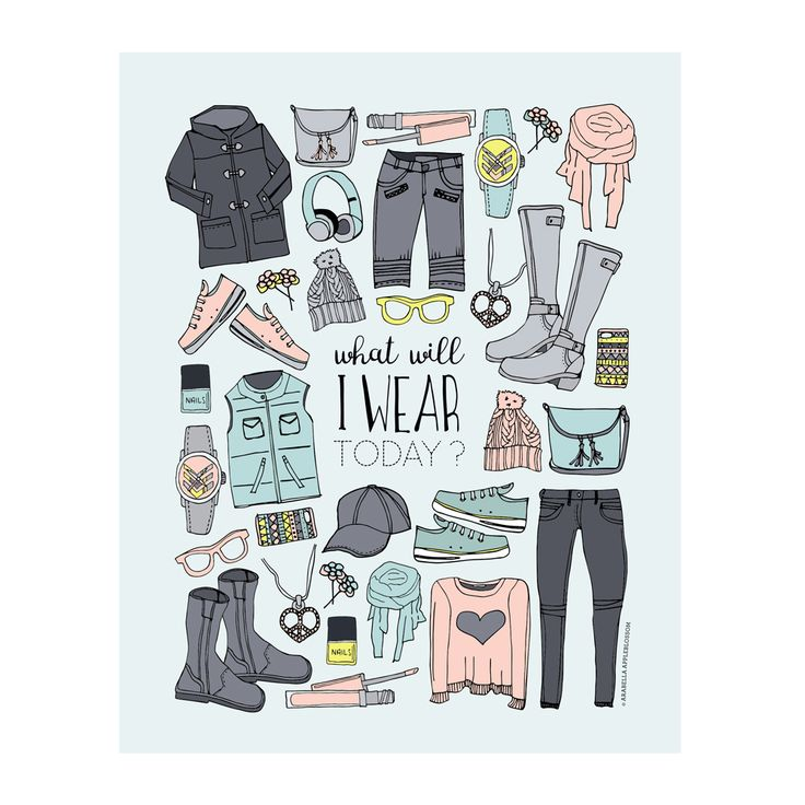 """What Will I Wear Today"" Your teen will love this for her room. Available to purchase from our Etsy store. Available in 4 sizes 4 x 6"" - printed on A4 5 x 7"" - printed on A4 8 x 10"" - printed on A3 11 x 14"" - printed on A3"