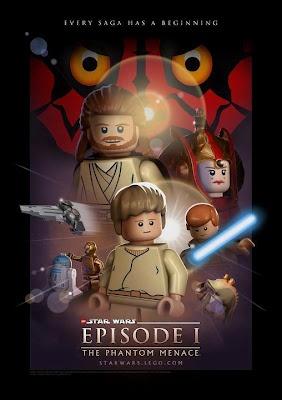 Lego Star Wars Movie Episode 1