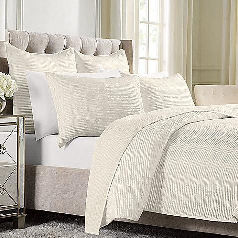 Wamsutta® Serenity Quilted Coverlet in WhiteDecor Ideas,  Comforters, Serenity Quilt, Quilt Standards, Quilt Coverlet, Master Bedrooms, Pillows Shams, Texture Quilt, Quilt Pattern