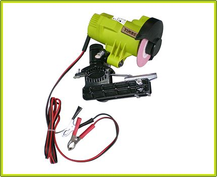 Timber Tuff Tools | Tough Tools for the Forest Industry! | 12Volt Bar Mounted Chainsaw Chain Sharpener
