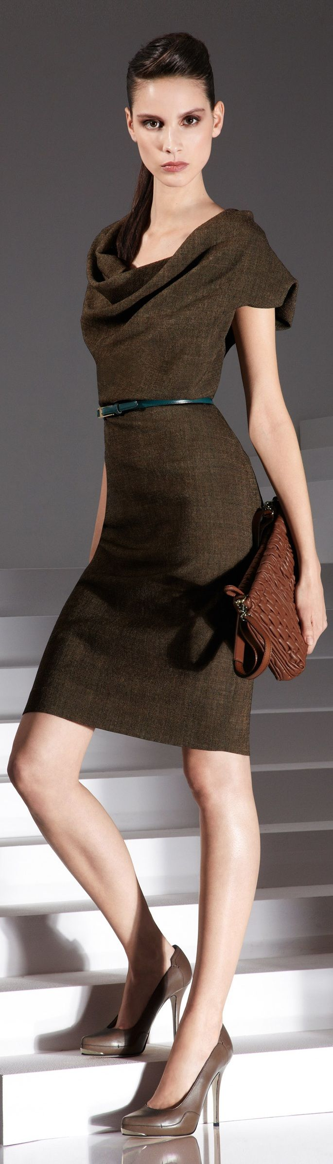 Escada, work chic.