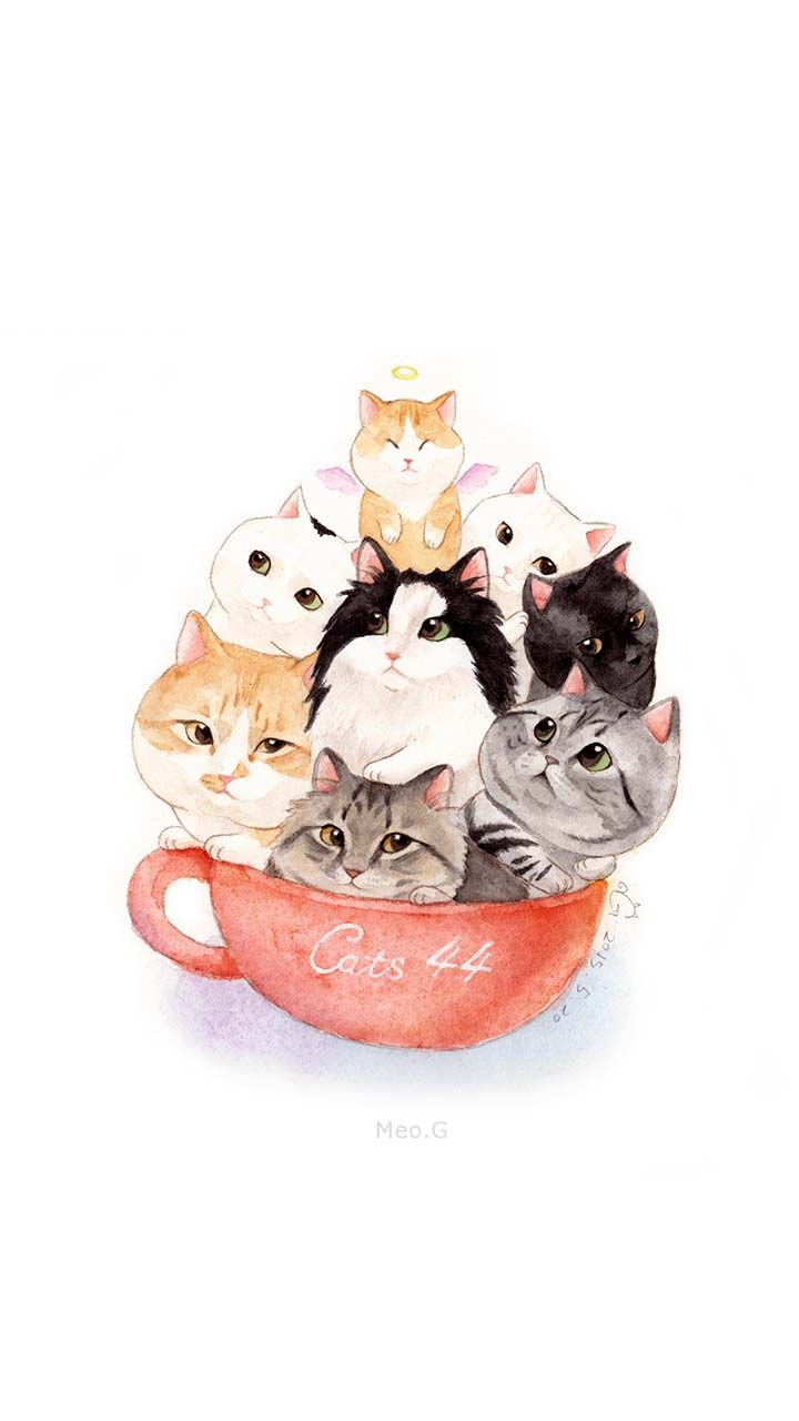a cup of cats~