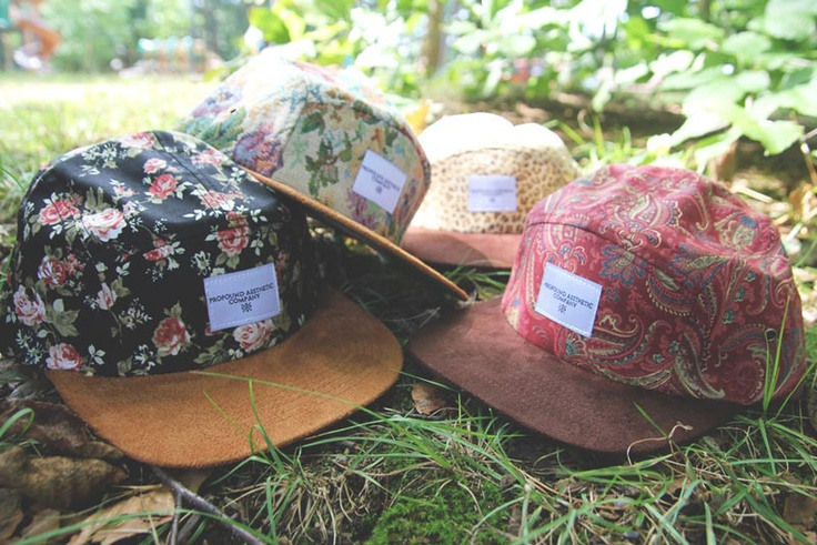 Profound Aesthetic 'Beauty In The Wild' 5 Panel Hat Collection: Aesthetics Beautiful, Profound Aesthetics, Floral Patterns, 5Panel Hats, Style, Panels Cap, 5Panel Collection, Hats Collection, 5 Panels Hats