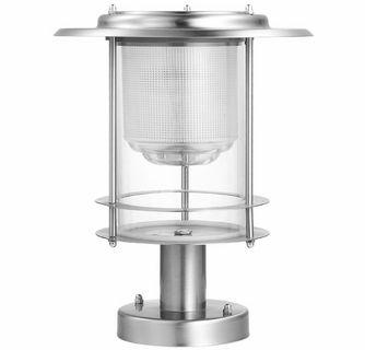 Stainless Steel Pro Design Solar Post Light