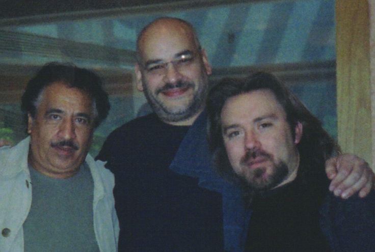 Rafael Inclán y Hugo Rodríguez