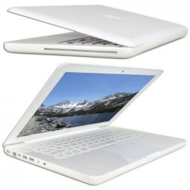 Apple MacBook Core 2 Duo P7550 GeForce Laptop White Unibody Notebook Bluetooth  #Apple
