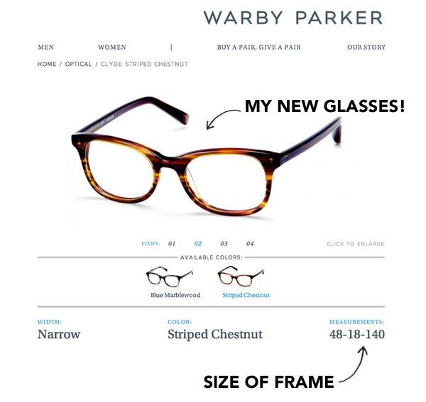 Eyeglass Frame B Measurement : 17 Best images about Warby Parkers Glasses on Pinterest ...