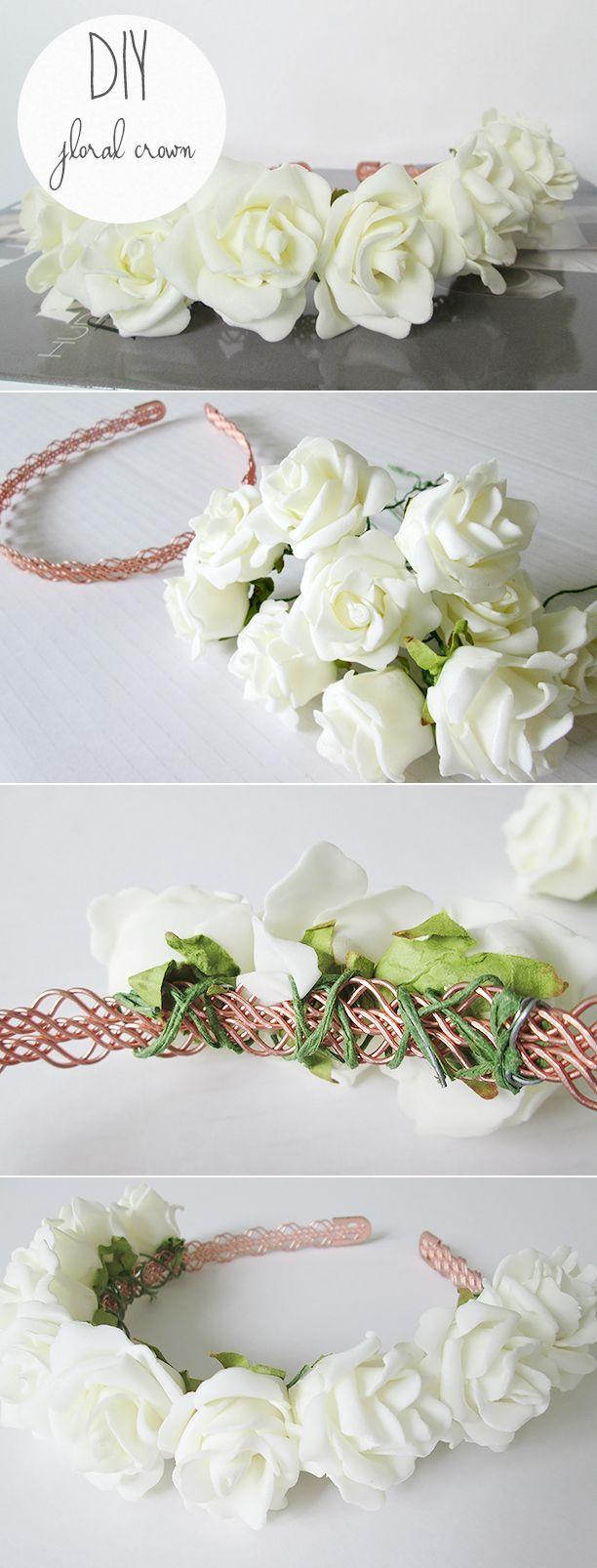 DIY Floral Crown - Nouvelle Daily