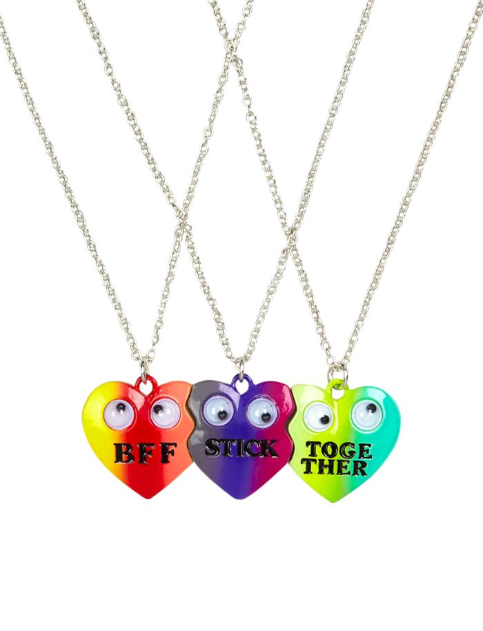BFF Stick Together Heart Necklaces | Necklaces | Jewelry | Shop Justice