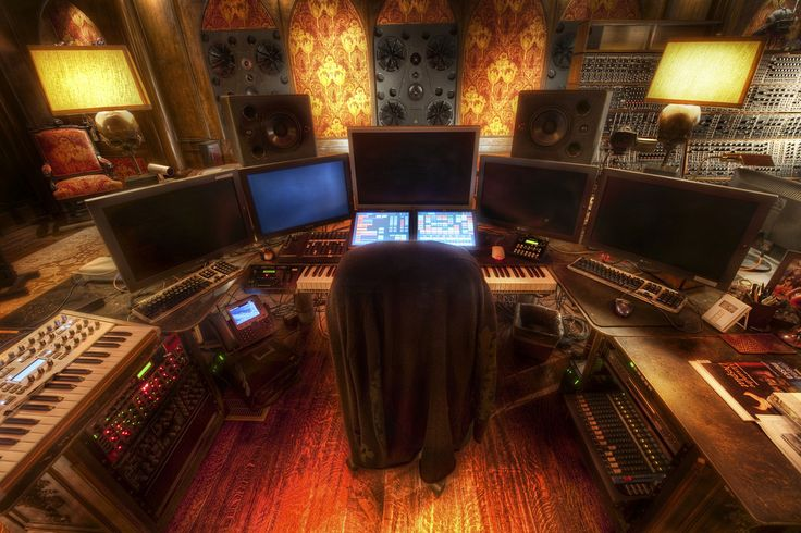 Studio enregistrement Hans Zimmer