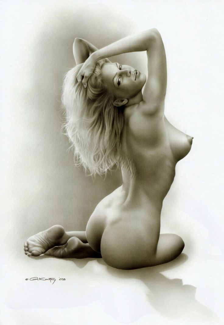 красиво нарисованные девушки эротика - 12
