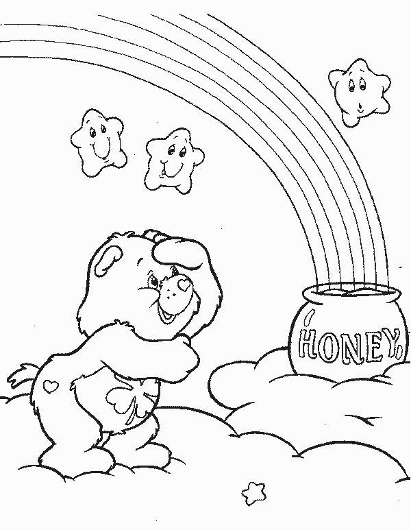 7 besten Care Bears Coloring Pages Bilder auf Pinterest | Care bears ...