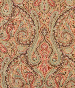 Ralph Lauren Hera Paisley Champagne Fabric   onlinefabricstore.net