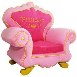 Royal Princess Chair Upholstered Kids Chairs - LuxuryLamb.Com