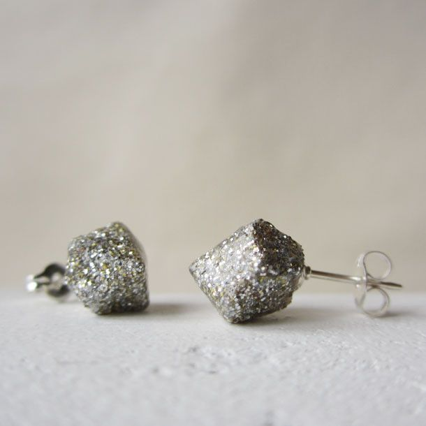 POP glitter rock studsPop Glitter, Rocks Studs, Glitter Rocks, Style, Handmade Glitter, Accessories, Christmas Gift, Products, Handmade Jewelry