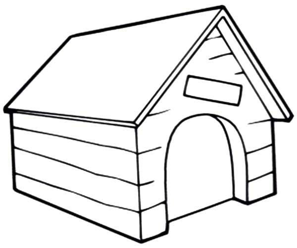 Dog Kennel Clipart