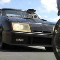 The V8 Interceptor, also known as a Pursuit Special, is driven by Max Rockatansky at the end of...