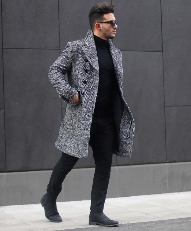 1000  ideas about Men Coat on Pinterest | GQ Ripped jeans men and