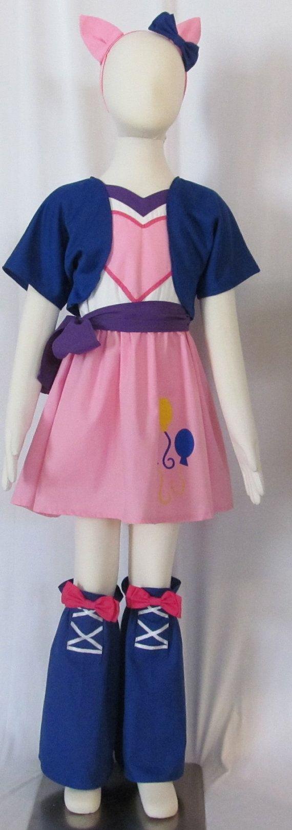 Child Size Pinkie Pie Equestria Girls Cosplay Costume