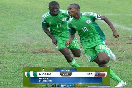 Video: Nigeria 2–0 USA [FIFA U17 World Cup Highlights]