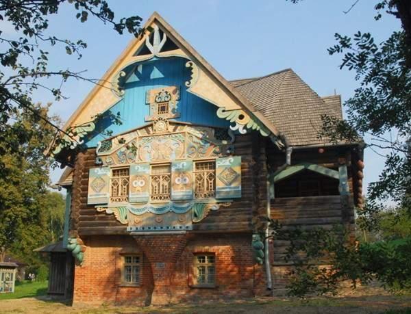 Усадьба Талашкино, Жилая архитектура и Памятники архитектуры