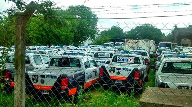 Volkswagen Amarok . Policia de la Provincia de Buenos Aires