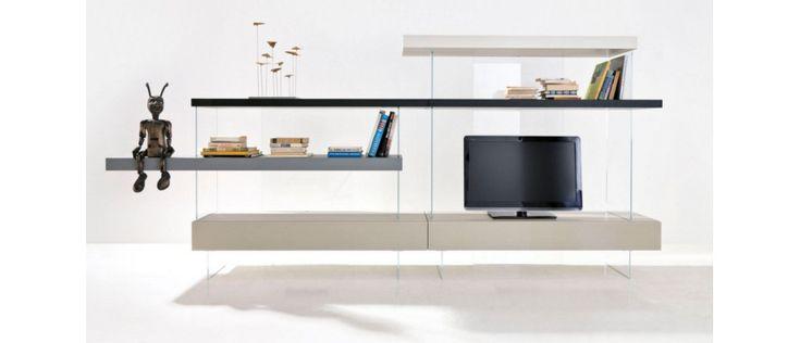 61 best compositions meuble tv images on pinterest. Black Bedroom Furniture Sets. Home Design Ideas