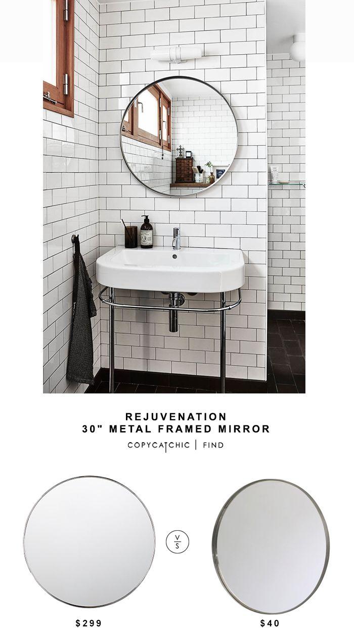 Rejuvenation 30″ Metal Framed Mirror – Round | Copy Cat Chic | Bloglovin'