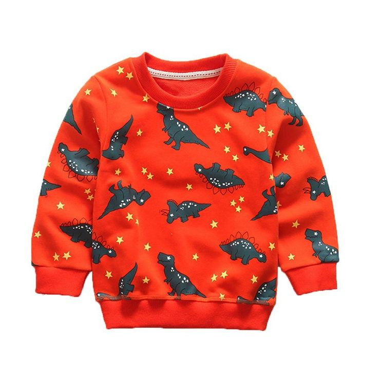 Boys' Kids Clothes Long Sleeve Sweatshirt