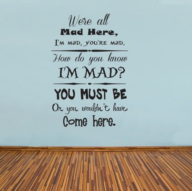 Mad Hatter Quotes: 1000+ Mad Hatter Quotes On Pinterest
