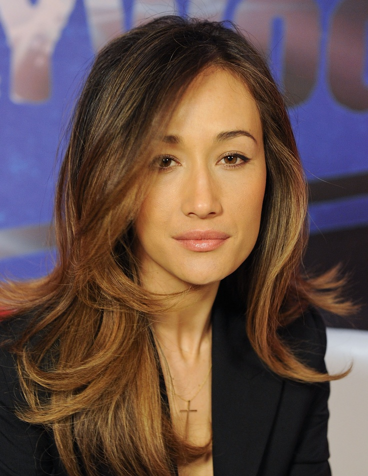 Maggie Q-Hair Color