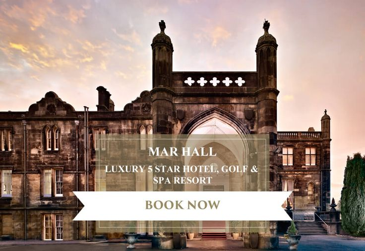 Mar Hall is a luxury five star hotel, golf and spa resort and wedding venue near Glasgow, and just a ten minute drive from Glasgow Airport.