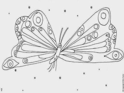 Stunning Very Hungry Caterpillar Coloring Pages