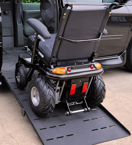 Pimped Out Wheelchair | Do you like ATV's then you will like this wheelchair, the owner was a ...