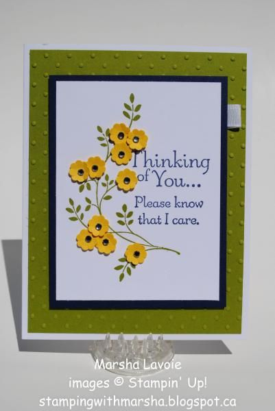 Thinking of You by StampingwithMarsha - Cards and Paper Crafts at Splitcoaststampers