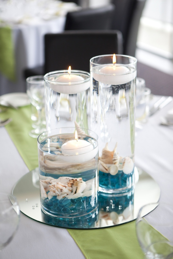 65 best centerpieces & table settings images on Pinterest | Napkins ...